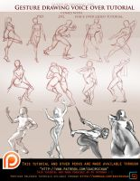 Gesture Drawing voice over tutorial .promo. by sakimichan