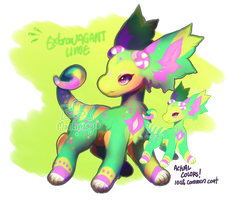 [Auction] - Extravagant Lime by PhloxeButt