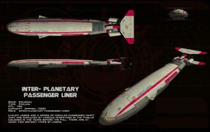 Inter-planetary Passenger Liner ortho by unusualsuspex