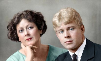 Isadora Duncan and Sergey Yesenin by klimbims