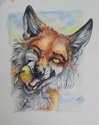 Veggie Thief ACEO by SteelC