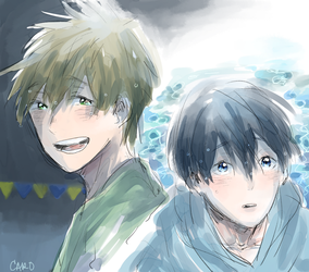[Free!] starting days by a-zebra-was-here