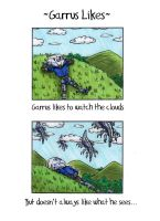Garrus Likes - Clouds by Hazeloop