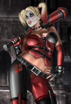 Harley Quinn Th34 by RaffaeleMarinetti