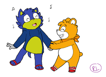 Organiks - I Wanna Dance With Somebody (Colored) by RaeLogan