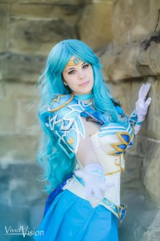 Armoured Sailor Neptune by YouseiCosplay