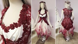 Fairytale Handfasting Gown by Firefly-Path
