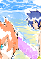 Water Color Beach by Jam-Project