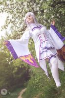 Emilia - Re:Zero by Shappi