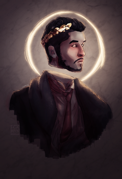 Uneasy lies the head that wears a crown by icharvs