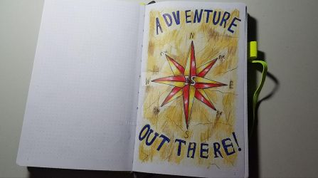 Travel Journal First Page by Thagirion