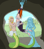 The Lamia's Captive by CaraNelle