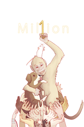 ONE MILLION STOPVIVISECTION by ChocoHal