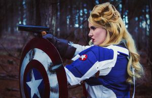 Captain America: Not a Perfect Soldier. by The-Meeg