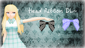 Head Ribbon -DL- by LesnikovaP