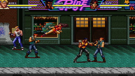 Streets of Rage Mania/Bare Knuckle Kiwami by DintheAbary