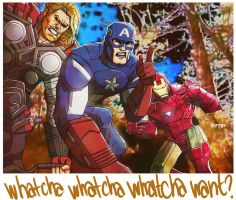 avengers x beastie boys: a tribute to MCA by m7781