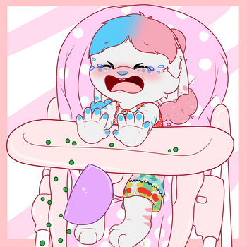 Highchair YCH: Avatarsong by tailslover42