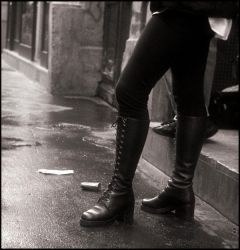 Boots in Paris - 14 by SUDOR