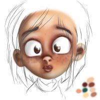 practicing colors by millegas