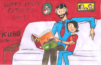 Kubo and the Mighty Fathers Day by Scared2dream