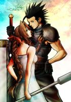 Zack and Aerith by MCAshe