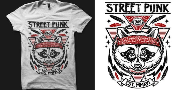 STREET PUNK (ARTWORK FOR SALE) by freeagent08