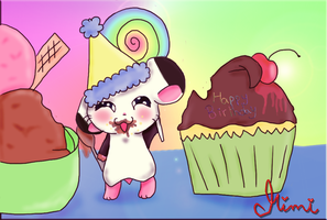 HAPPY BIRTHDAY ZUO-CI by MimiTheFox