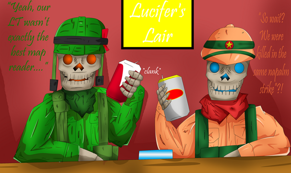 Cheers from the Grave by Wax-Master