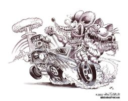 RatFink by Death-Ray-Graphics