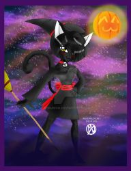 Bewitching Black Cat Sabrina by anbumsw
