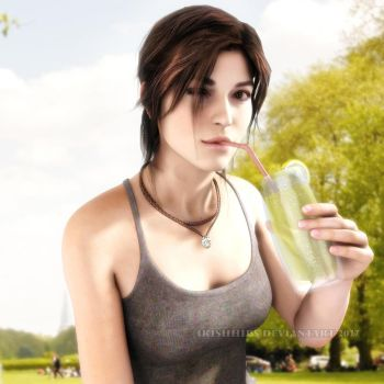 Tomb Raider: Stay Cool by Irishhips