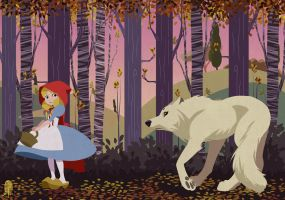 Little Red Riding Hood by Lelia