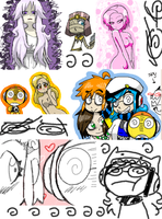 90 percent iscribble by Kurunik