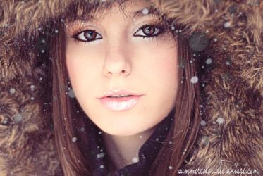 Snowy Days Retouch by SummerColor