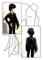 BJD Shirt SD by kowai-usagi
