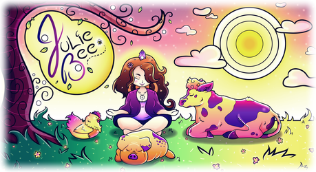 Zenning Out ~ by MissIllustrative
