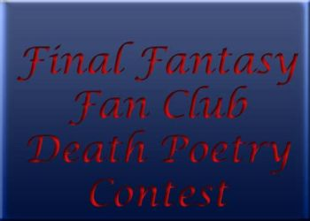 FFFC Death Poetry Voting Table by finalfantasyfan
