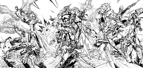 The Final Stand - Inks by J-Skipper