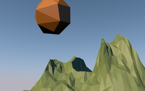 LOW POLY MOUNTAIN by Quakenxt