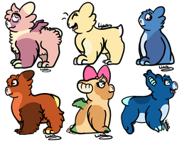 Wyngling Gift Batch-#3 by Lionblaze03