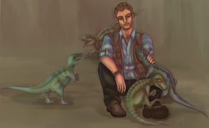 Jurassic World - Daddy Owen by DoctorPiper