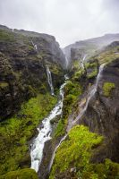 Glymur waterfall by StonyStoneIsStoned2