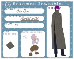 Pokemin Township: Cain Rave (relationships update)