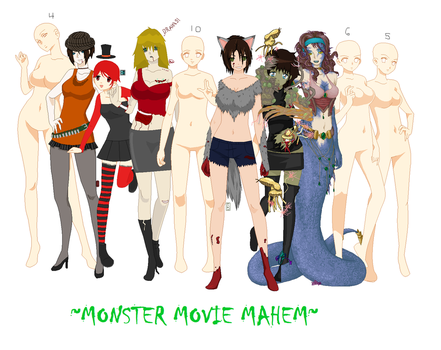 .:Open Monster Mayhem Collab:. by AyaWuzHere