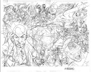 X-Men First class double page by BroHawk
