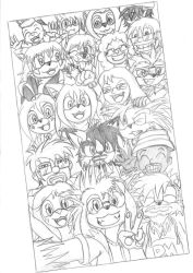 Group Selfie by EUAN-THE-ECHIDHOG
