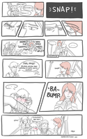 Commish - FHawkexFenris Comic by kamidoodles