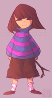 Undertember 20 - Frisk by Dragonpopfruit