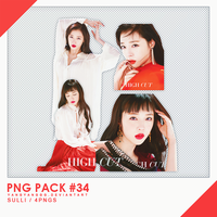 PNG PACK#34 -  Sulli 4PNGs - By Yangyanggg by Yangyanggg